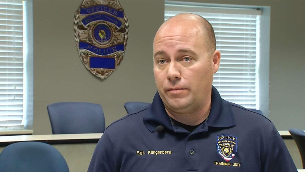 Broken Arrow Police Department Reveals New Recruitment Tool