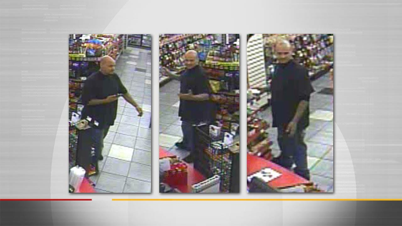 Owasso Police Want To Identify Suspected Motorcycle Thief