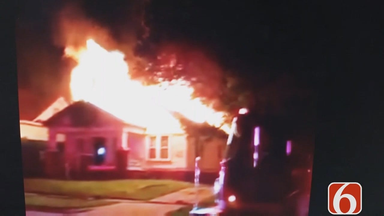 Firefighters Investigate Two Tulsa House Fires