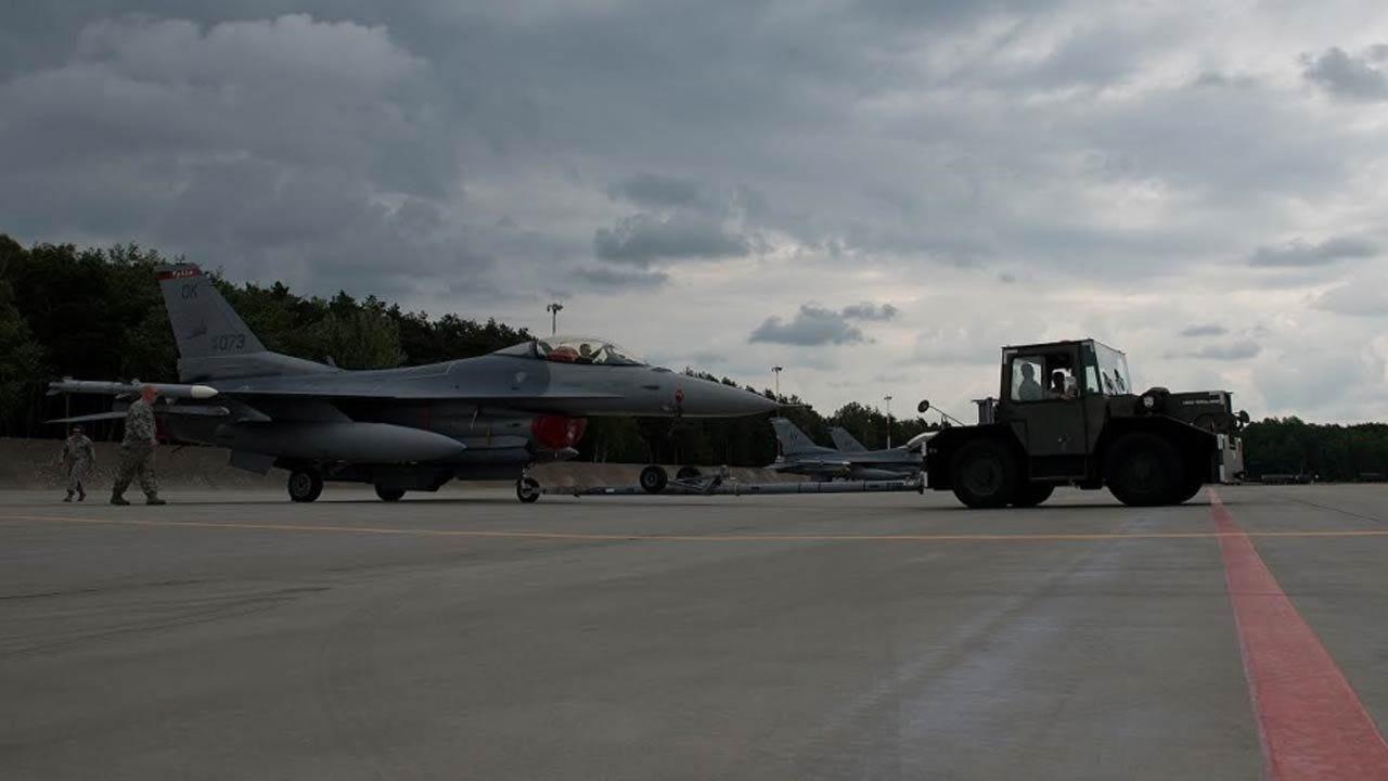 Oklahoma Airmen Participate In 'Anakonda 16' In Poland