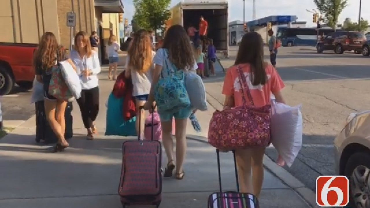 Tulsa Campers Return To Falls Creek Camp One Year After Floods