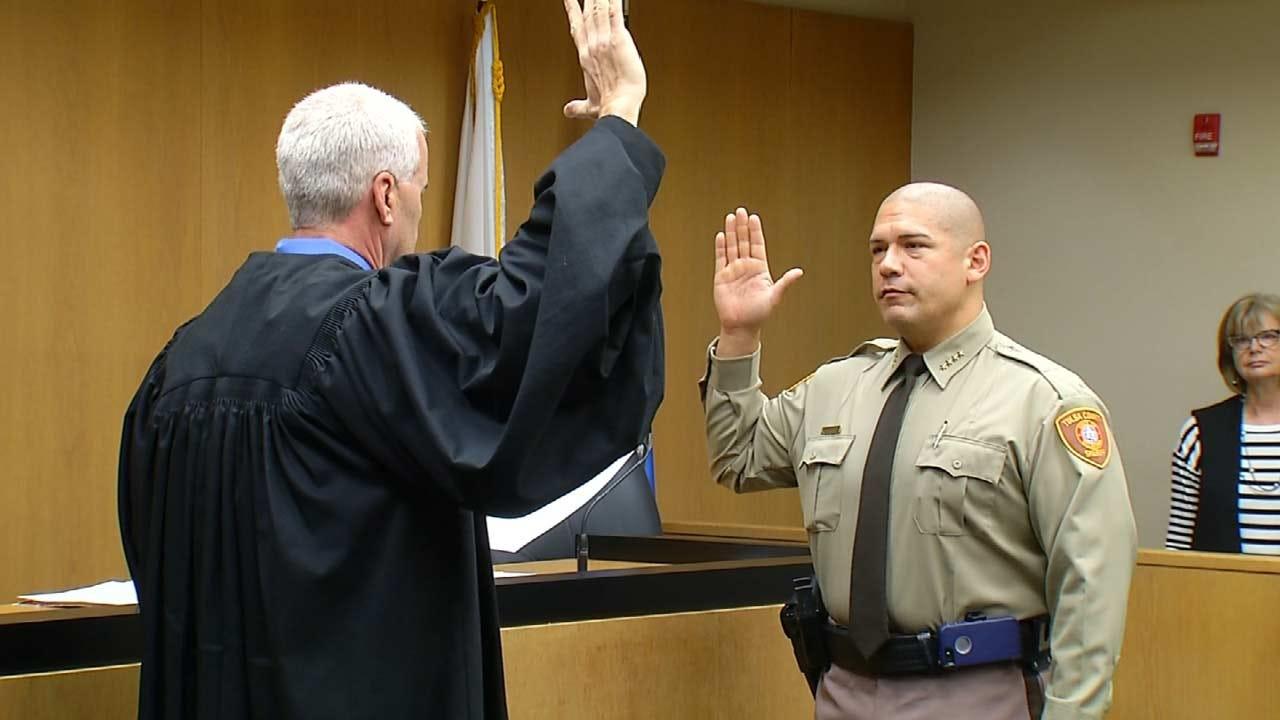 Tulsa County Sheriff Candidate Luke Sherman Defends Ad Against Regalado