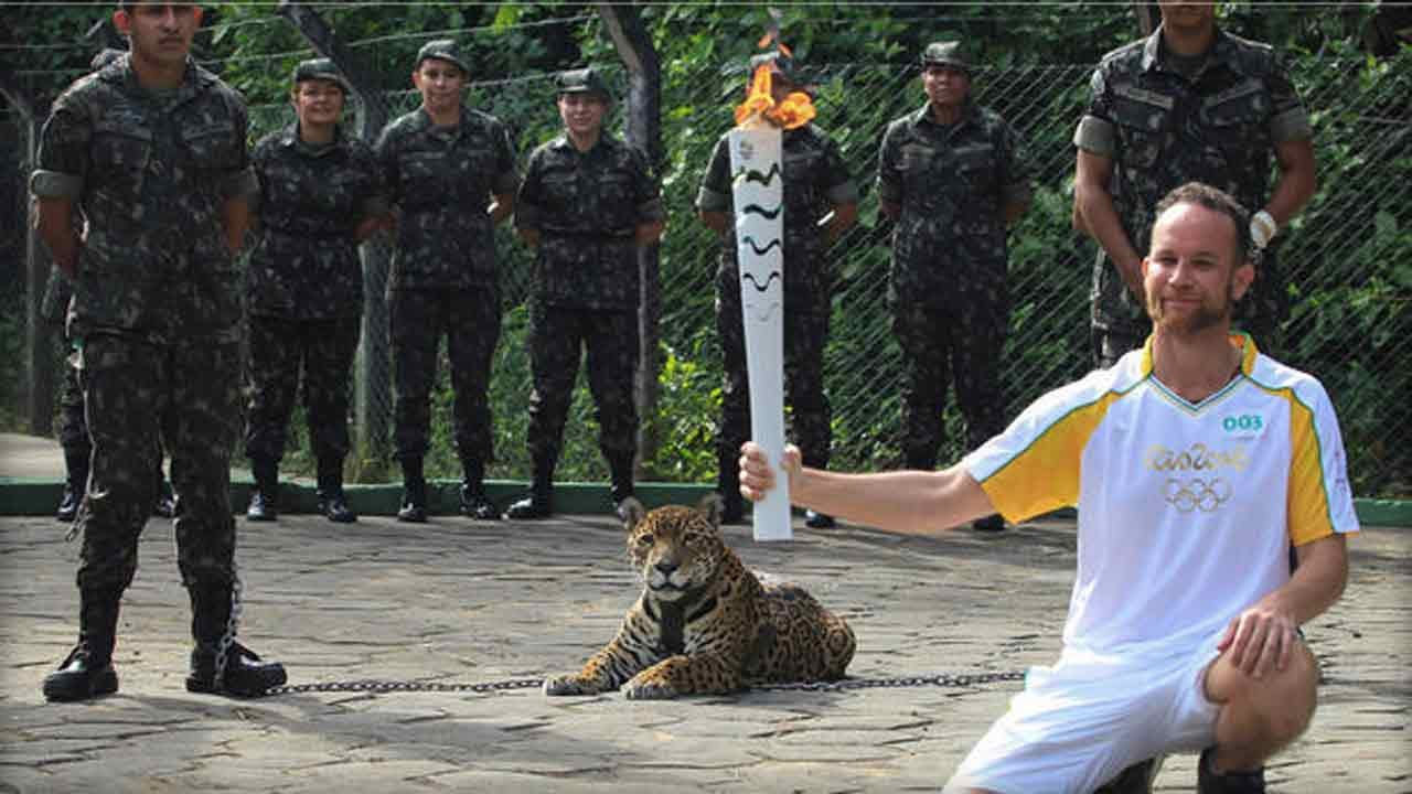 Soldiers Shoot Jaguar Used In Olympic Torch Ceremony In Brazil