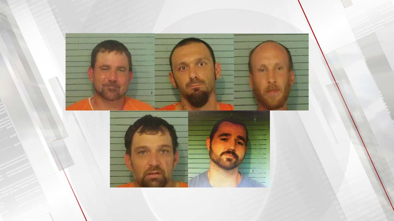 Five Arrested For Theft Of State Property In Okfuskee County