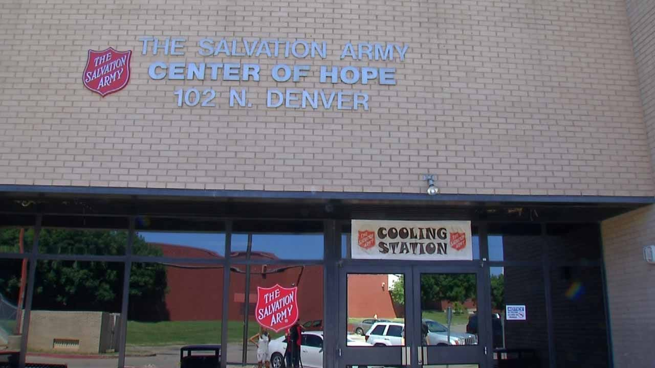 Tulsa Salvation Army Needs Fans, Water To Help Keep People Cool