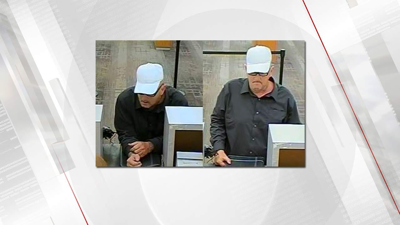 Police: Same Man Suspected In Two Tulsa Bank Robberies