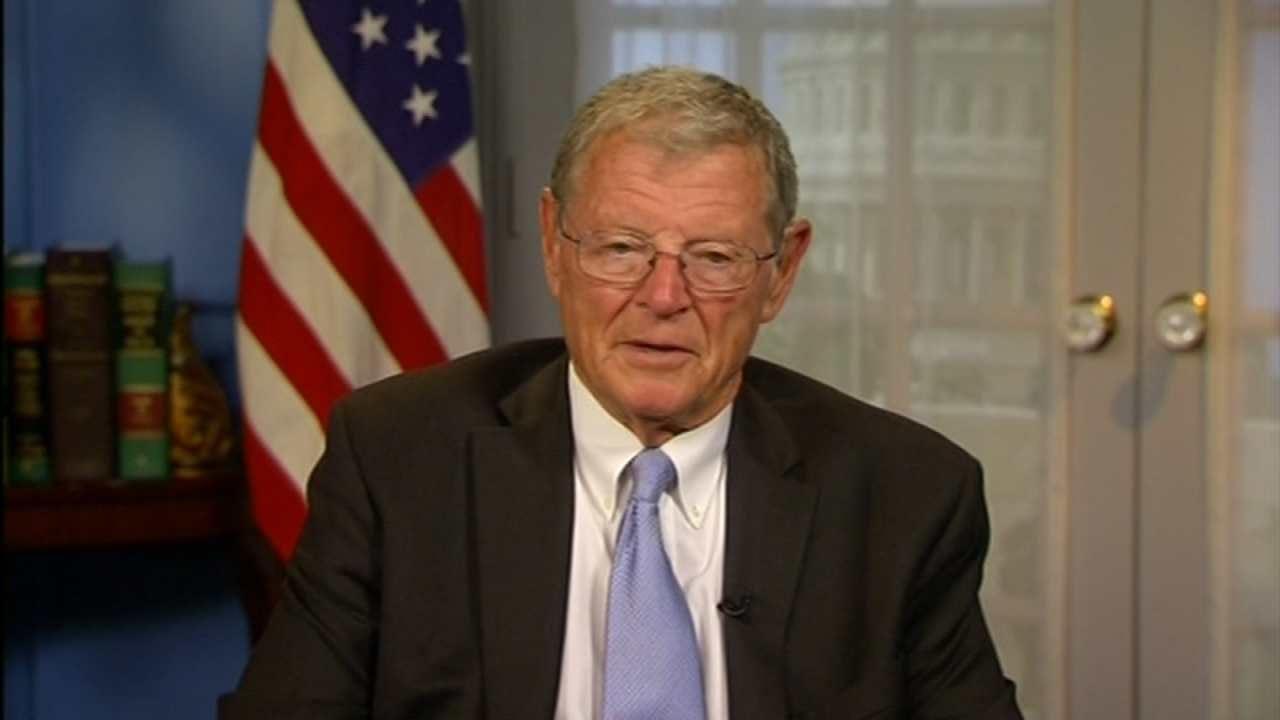 Senator Inhofe Accuses Democrats Of Politicizing Orlando Shooting