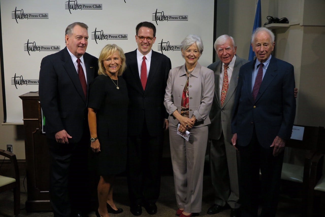 Five Former Tulsa Mayors Announce Endorsement Of G.T. Bynum