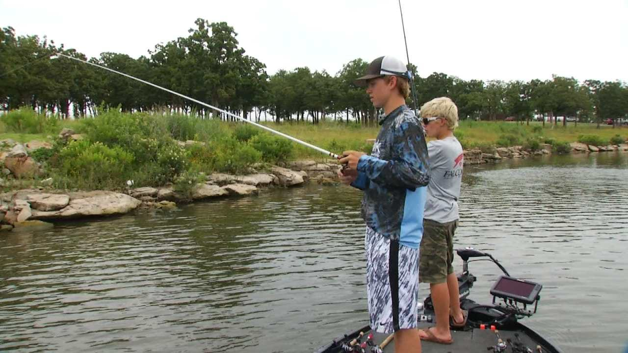 Oklahoma High Schoolers Vie For Bass Fishing Titles, Scholarships
