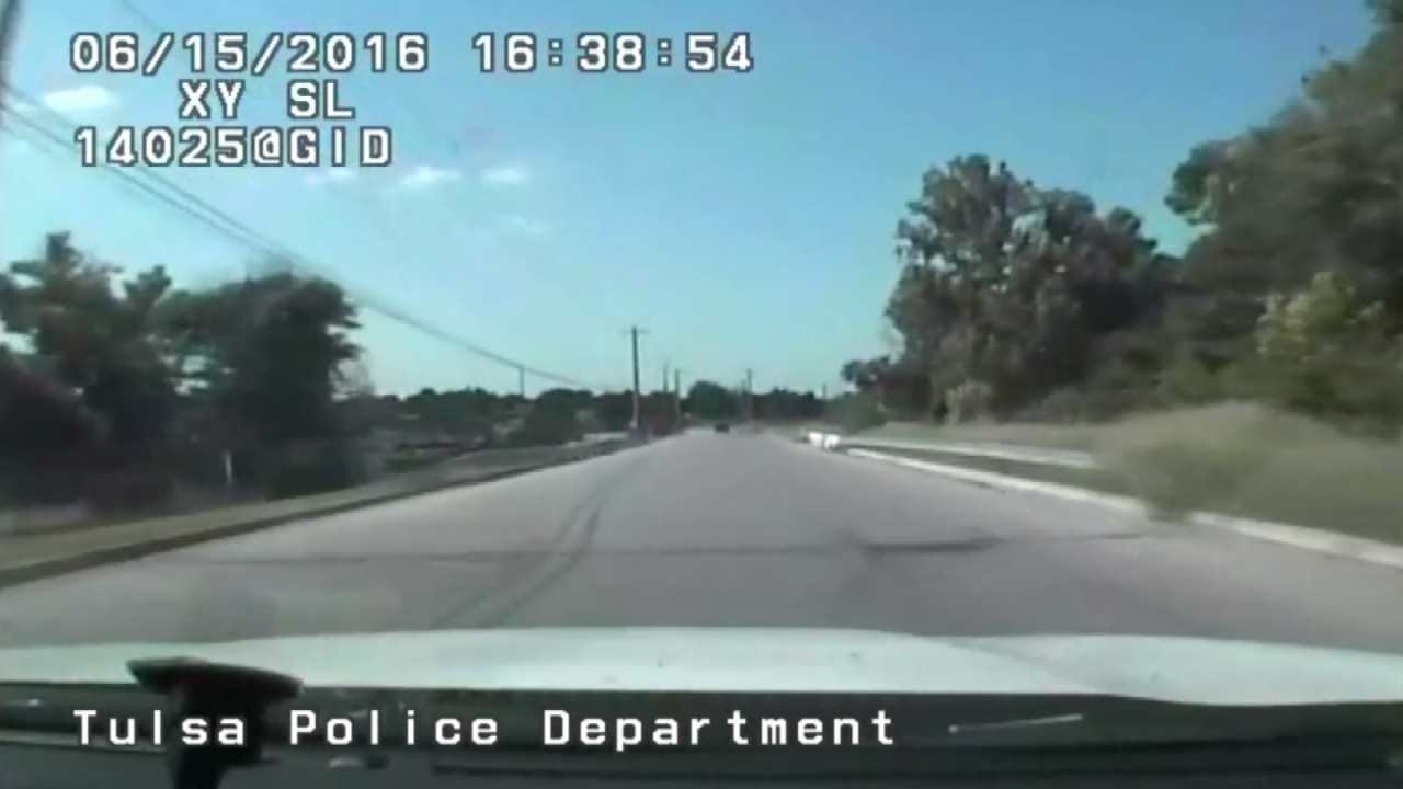 Police Release New Dashcam Video In TPD Chase