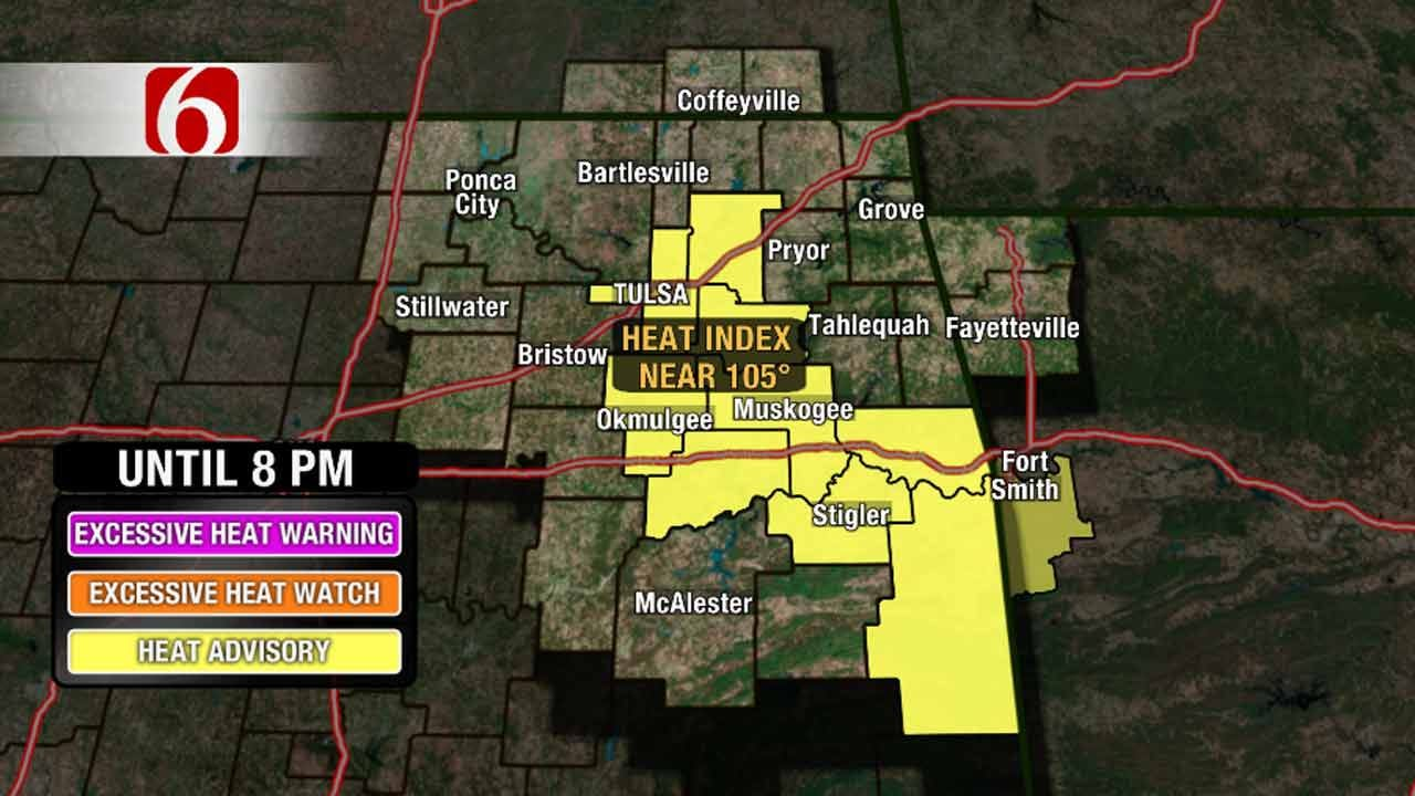 Heat Advisory In Effect With Some Relief In Sight
