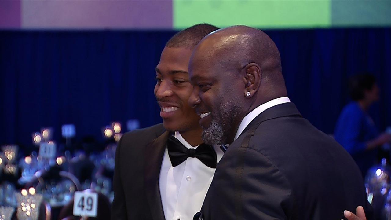 Former Booker T. Washington Standout Takes Home Male Iba Award