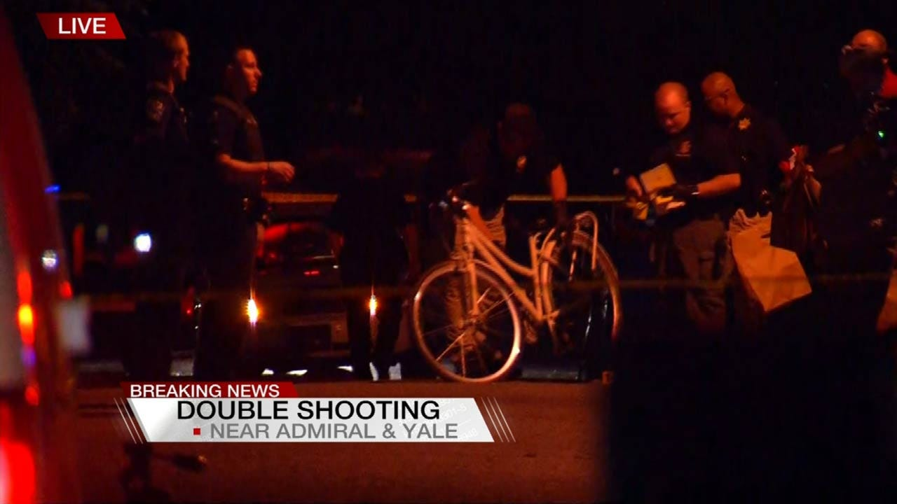 Men Riding Bicycles Involved In Tulsa Shooting; One Killed, One Injured