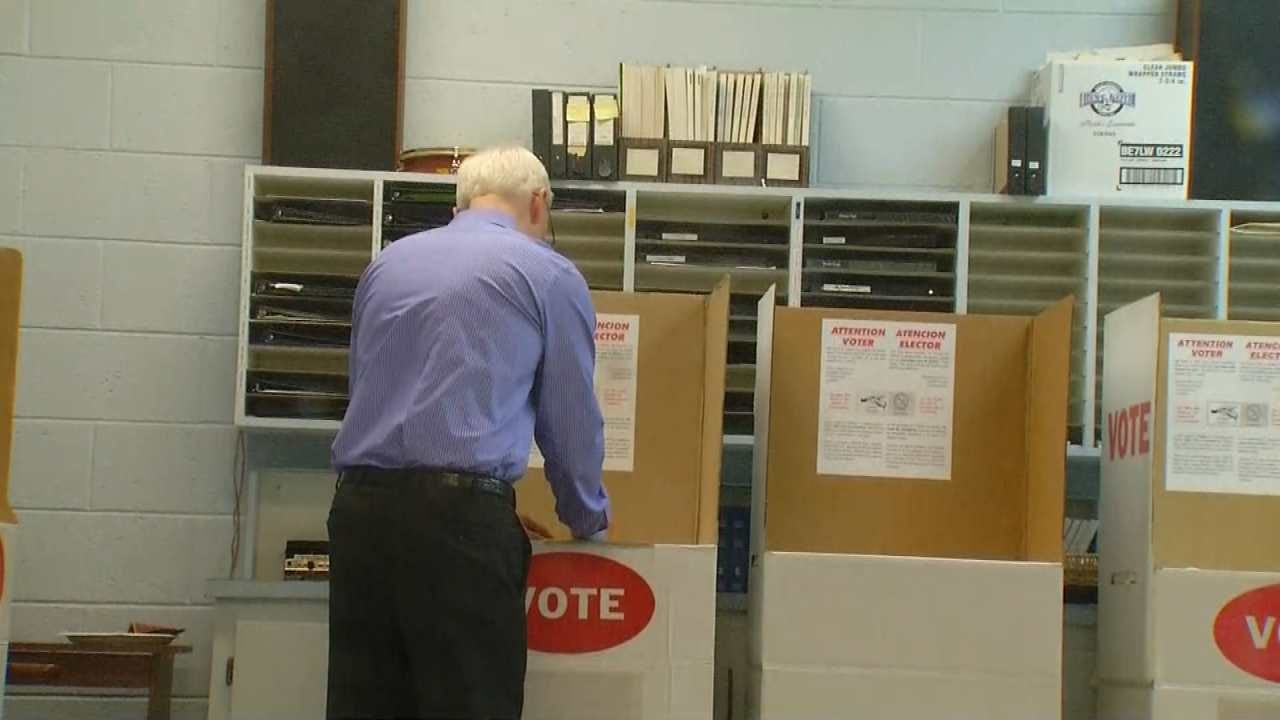 Polls Open For Oklahoma's Primary Election