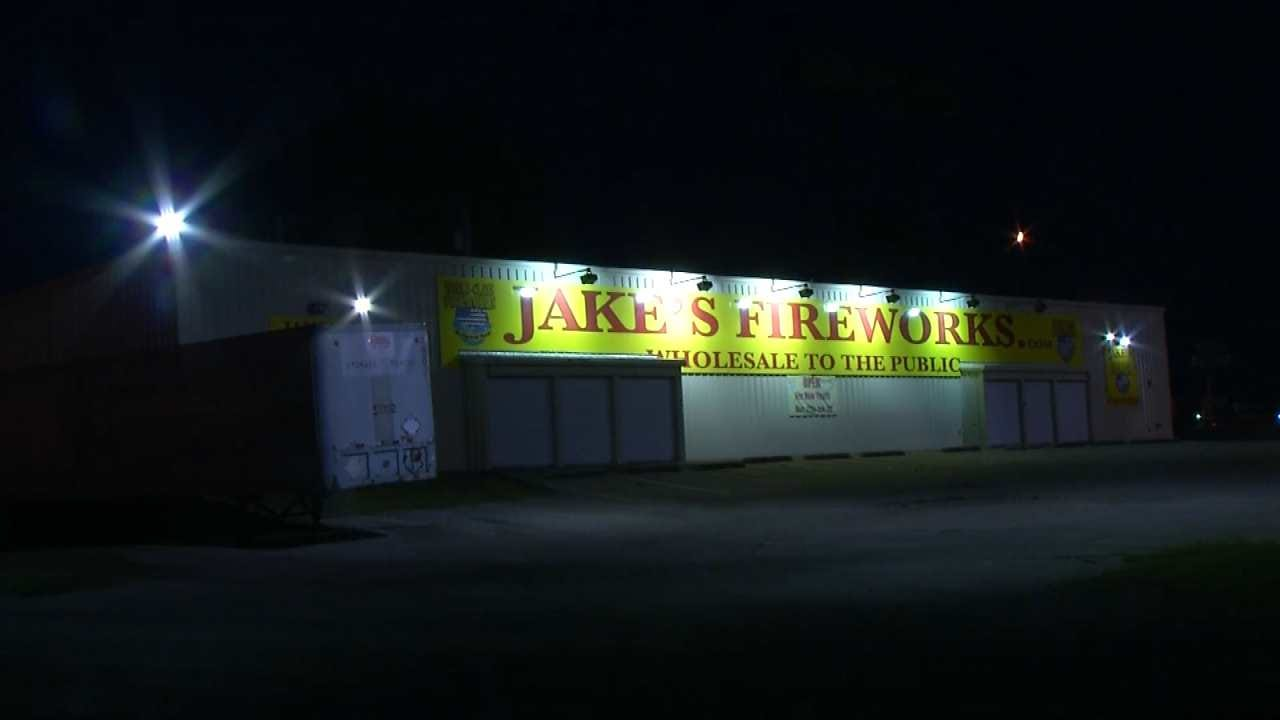 Two Arrested After Sapulpa Fireworks Stand Burglary