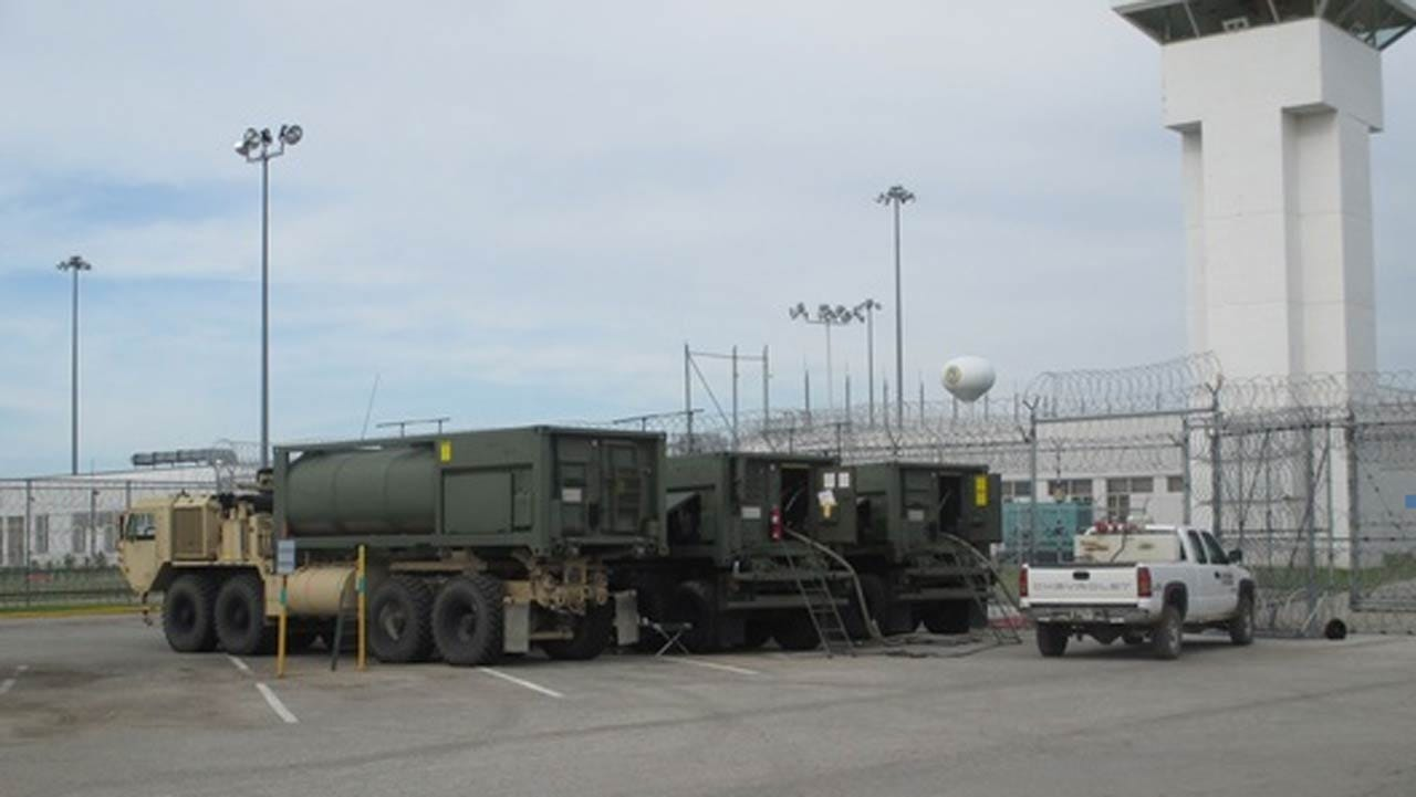 National Guard Responds To Water Emergency At Hominy Prison