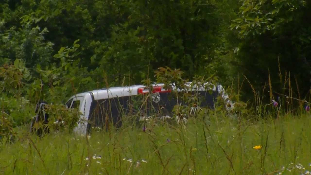 Creek County Chase Ends With Minor Crash Involving Officer
