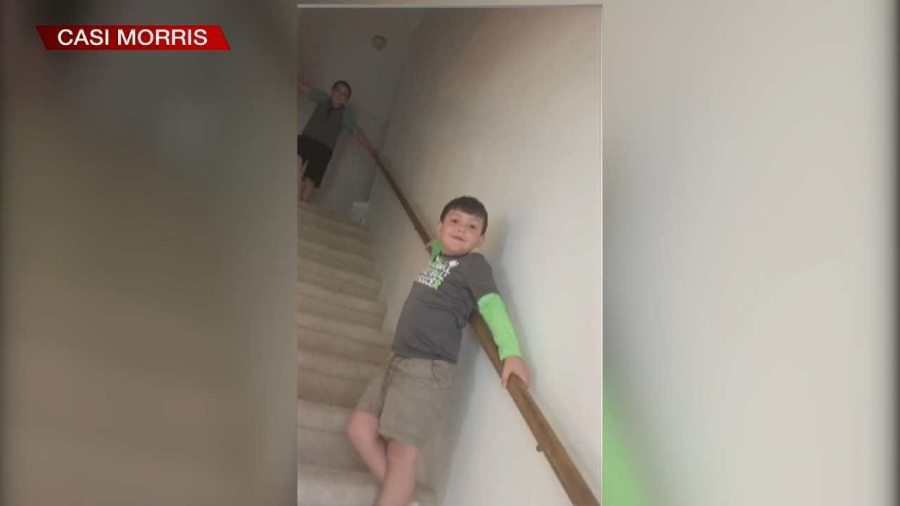 Bartlesville Boy Learns He's Cancer-Free In Viral Video