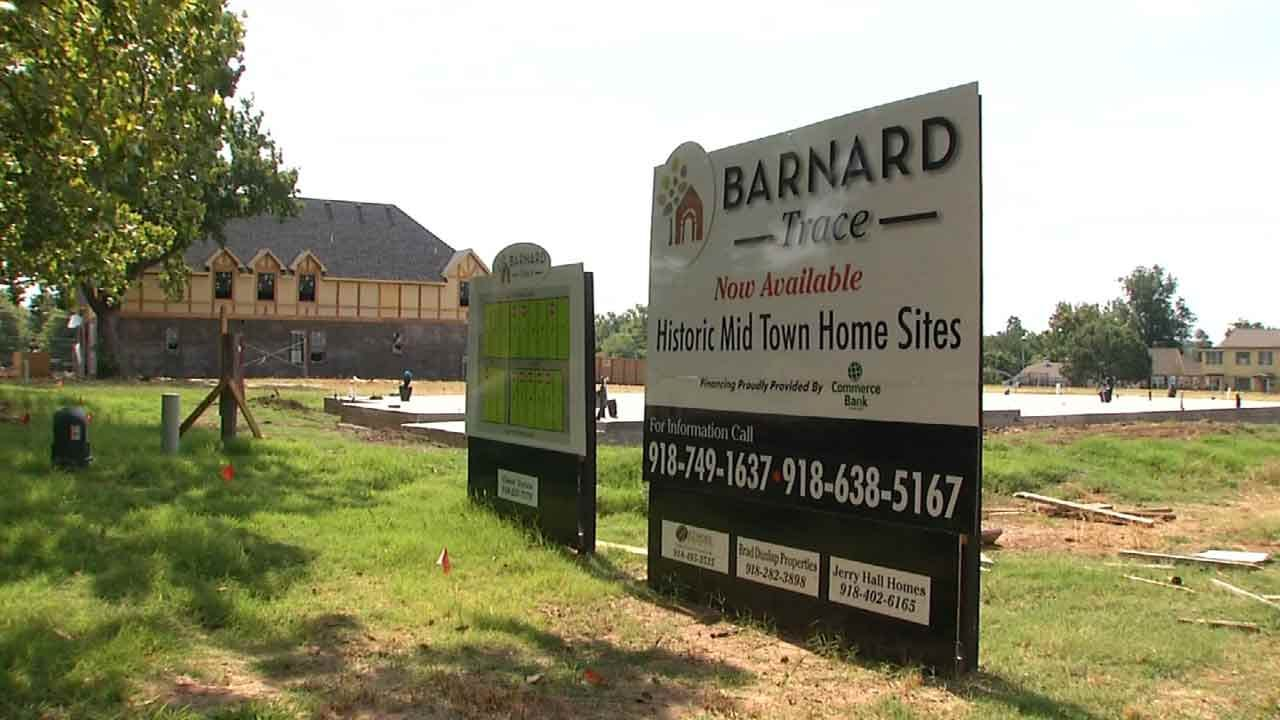 Houses Going Up On Site Of Burned Down Historic Tulsa School