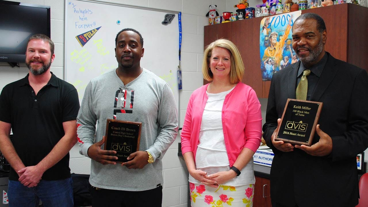 Tulsa's DVIS Honors Two With Its Heart Award