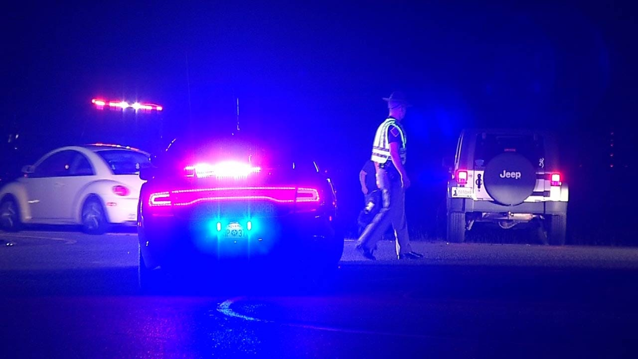OHP: Teenage Skiatook Driver Pulls Out In Front Of Motorcycle