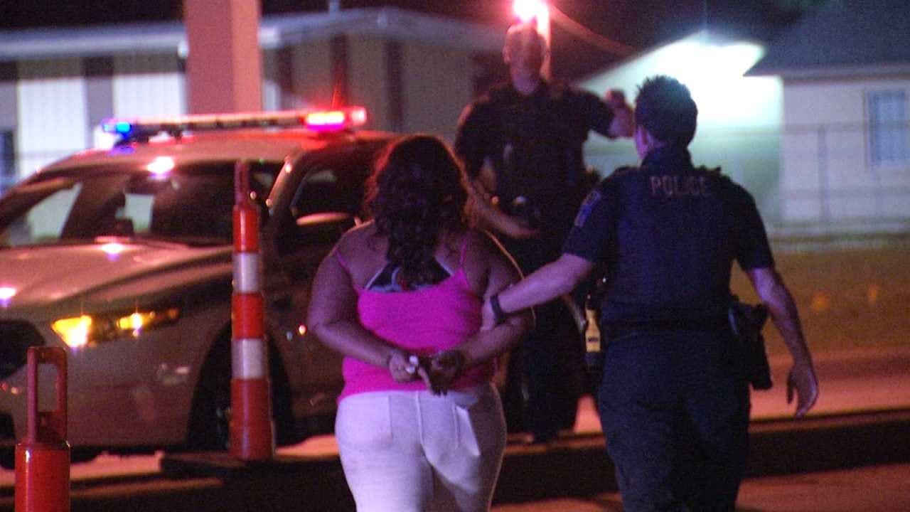 Tulsa Rollover Crash Leads To Arrest