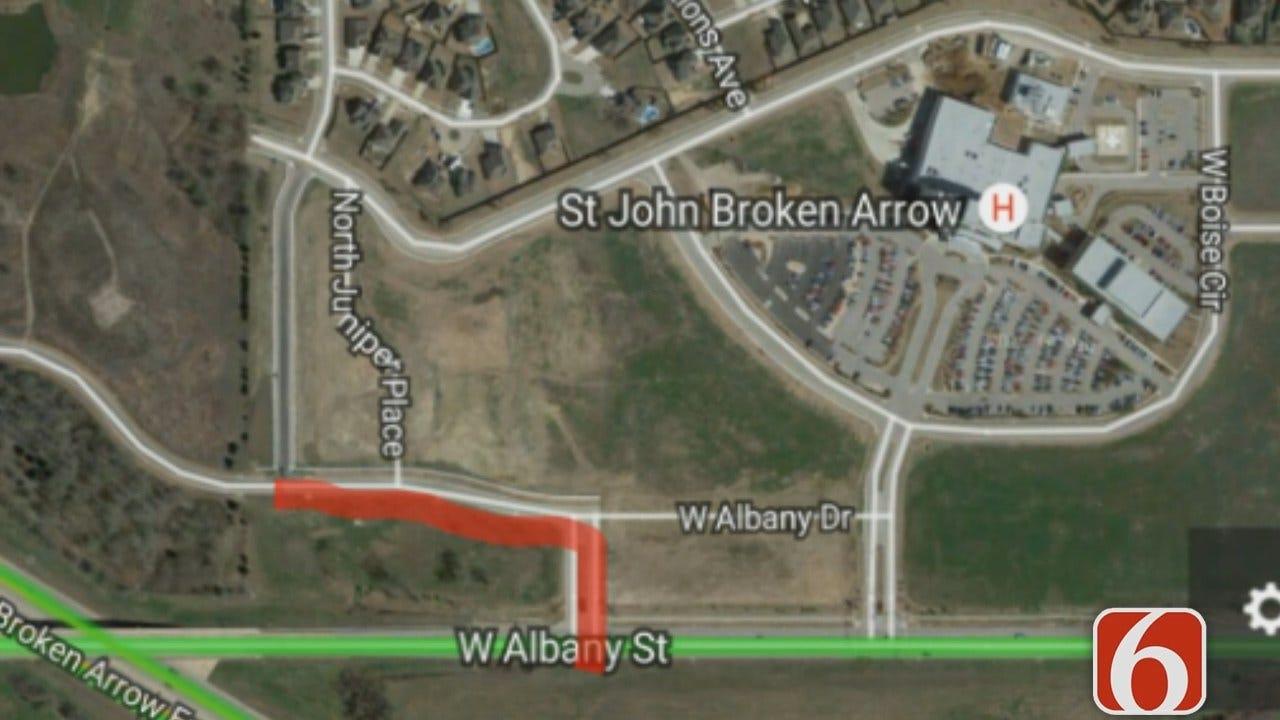 Broken Arrow Construction Starts Near St. John Hospital