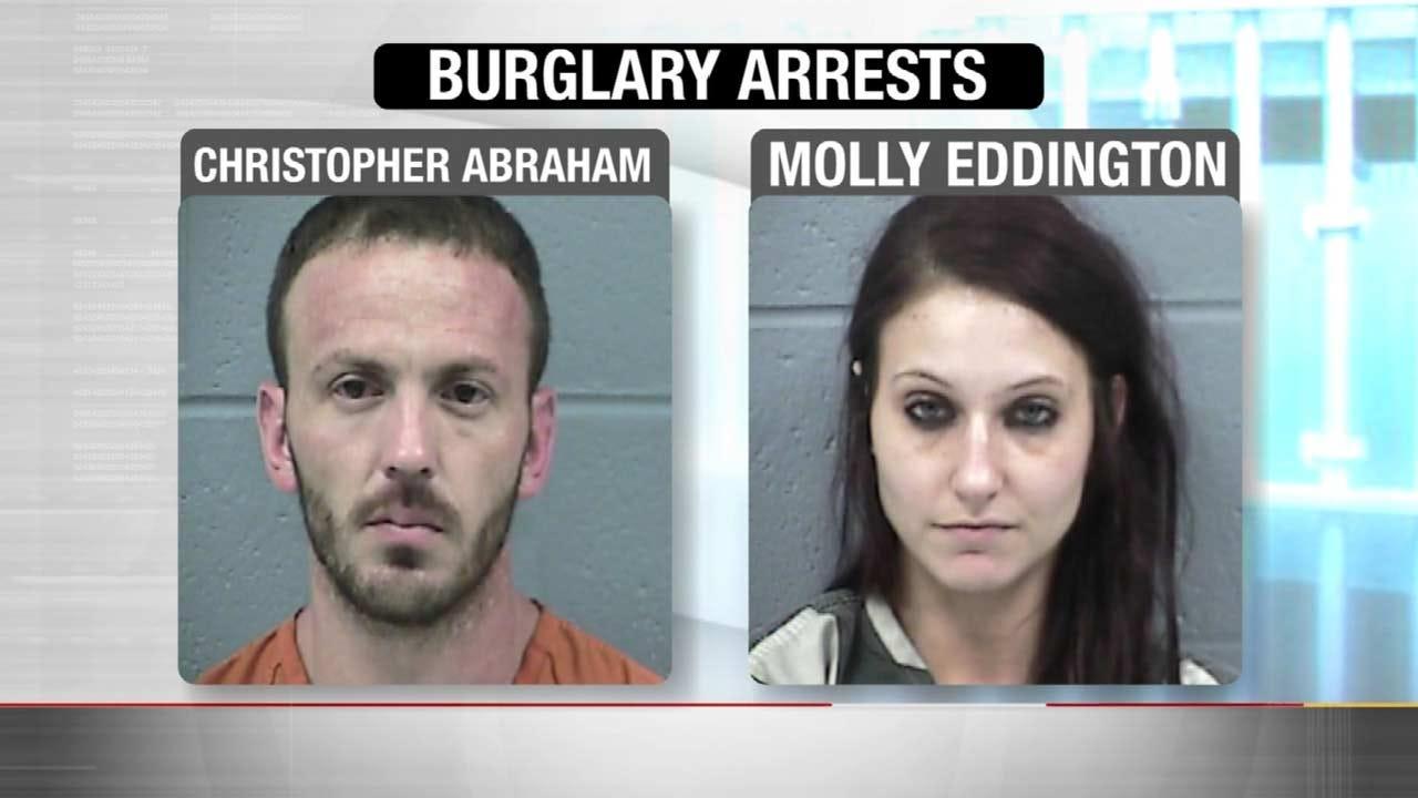 Inola Sisters Set Trap For Burglars; Hold Suspects At Gunpoint