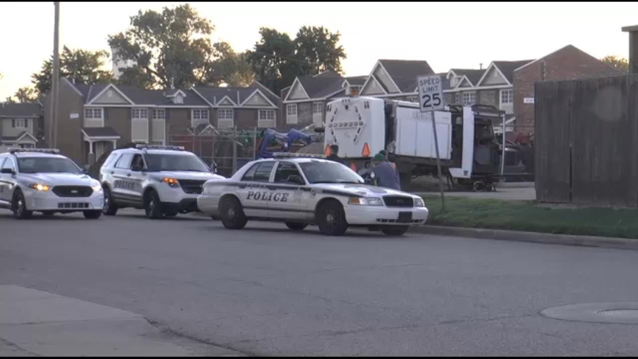 Man Robbed Filling Construction Vehicle In Tulsa Lot