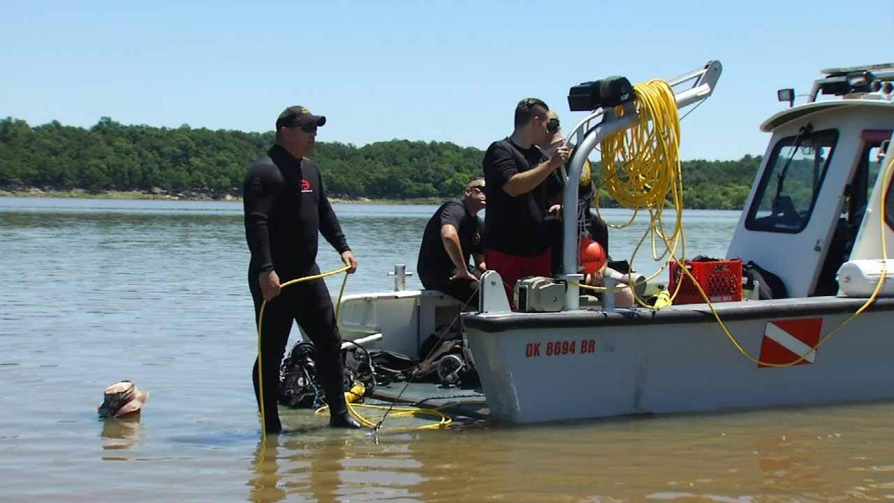 OHP Dive Team Continues Search For Teen's Missing Prosthetic