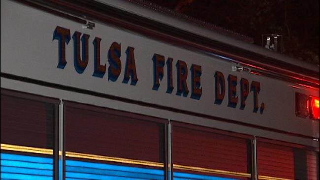 Tulsa Kitchen Fire Sends Two To Hospital