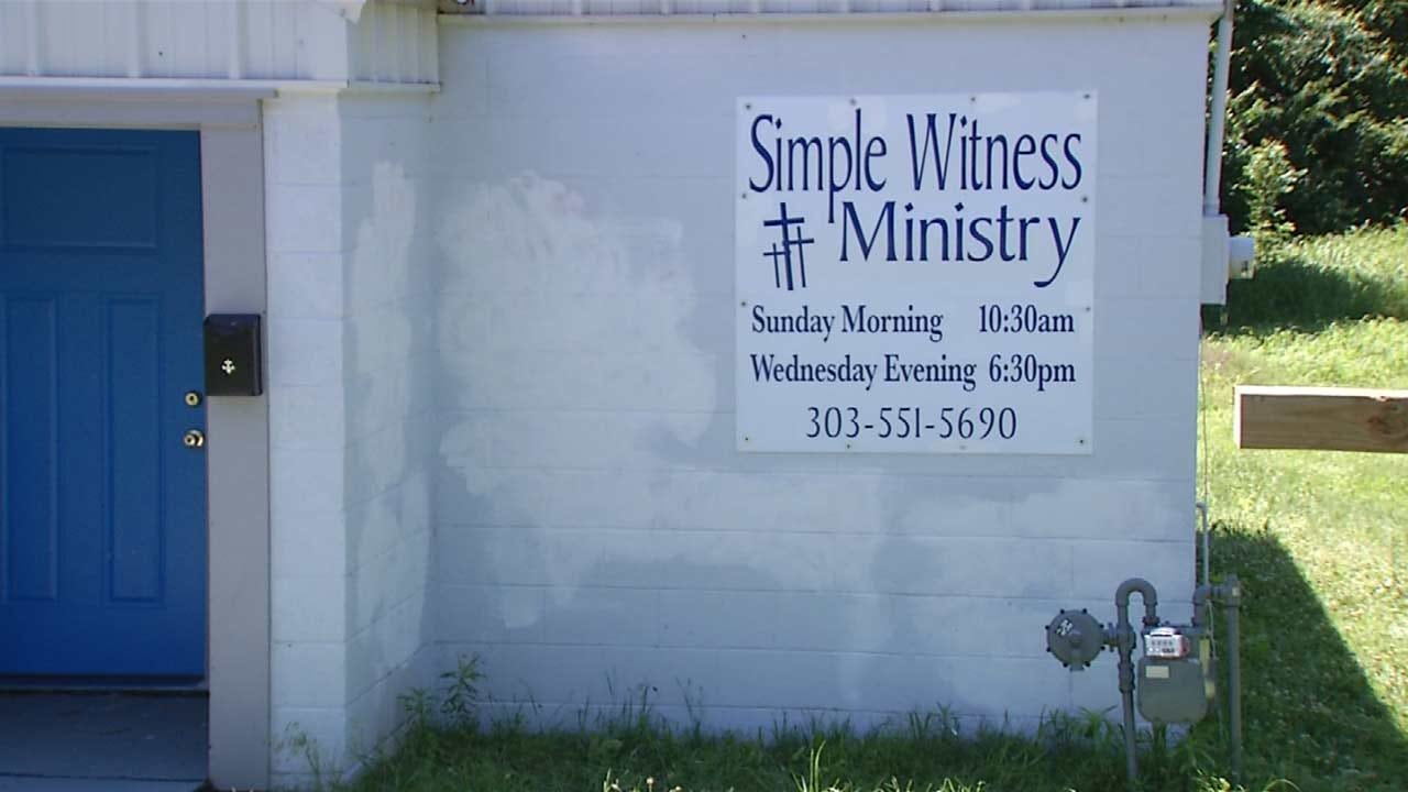 Vandals Paint Depew Churches Red; One Suspect In Custody