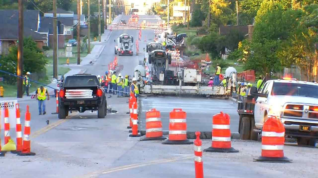 Yale Back Open Between Admiral And 4th, Rehab Project Continues