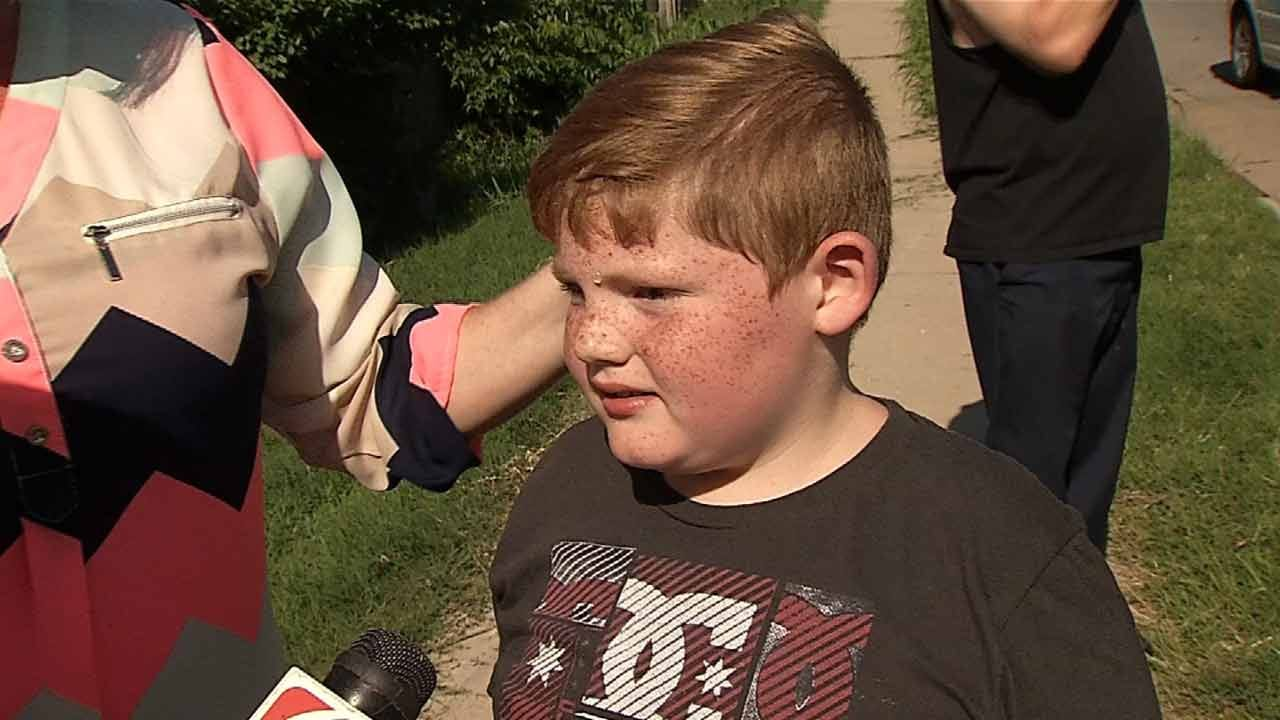 9-Year-Old Nearly Hit During Pursuit With Tulsa Burglary Suspect