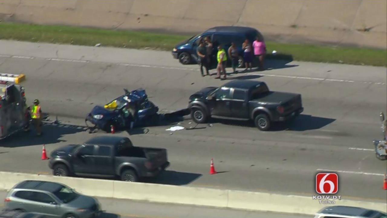 3-Car Accident Backs Up Traffic On BA Expressway