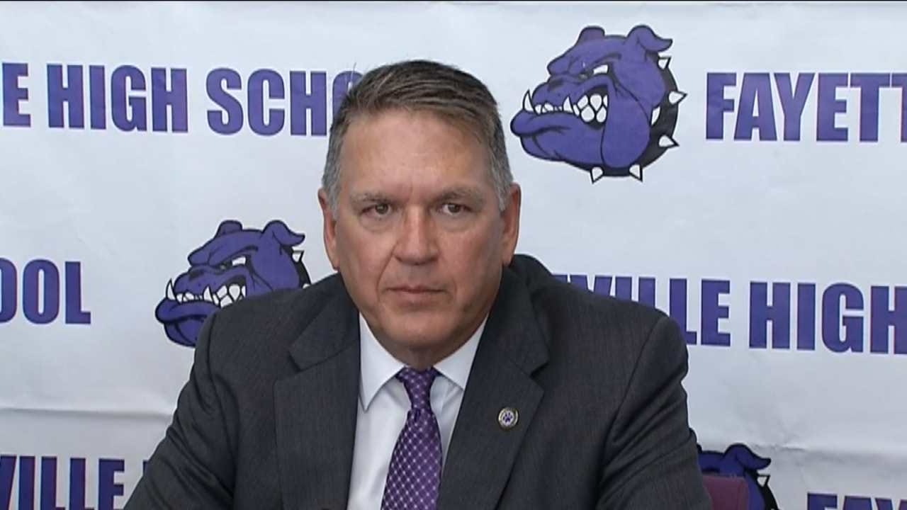 Bill Blankenship Opens Up About Being New Head Coach At Fayetteville High School