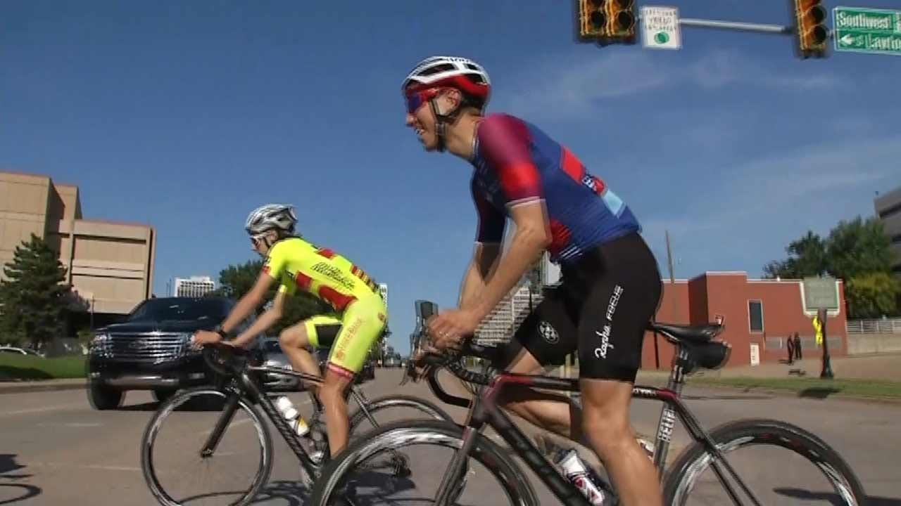 Local, Professional Cyclists Take Off On Wednesday Night Ride