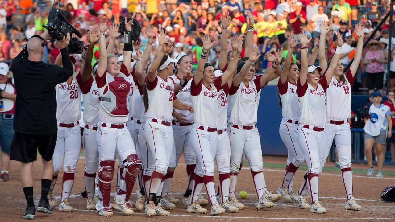 WCWS: Defense Pushes OU Past Auburn In Game 3 To Win National Championship