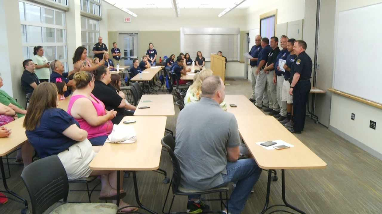 Cadets Graduate From Broken Arrow Junior Police Academy