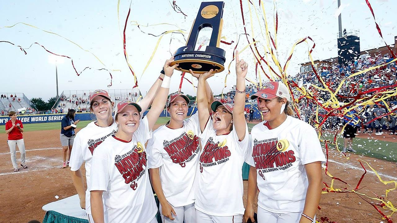 OU Softball Invites Fans To Public Celebration After Winning Third National Title