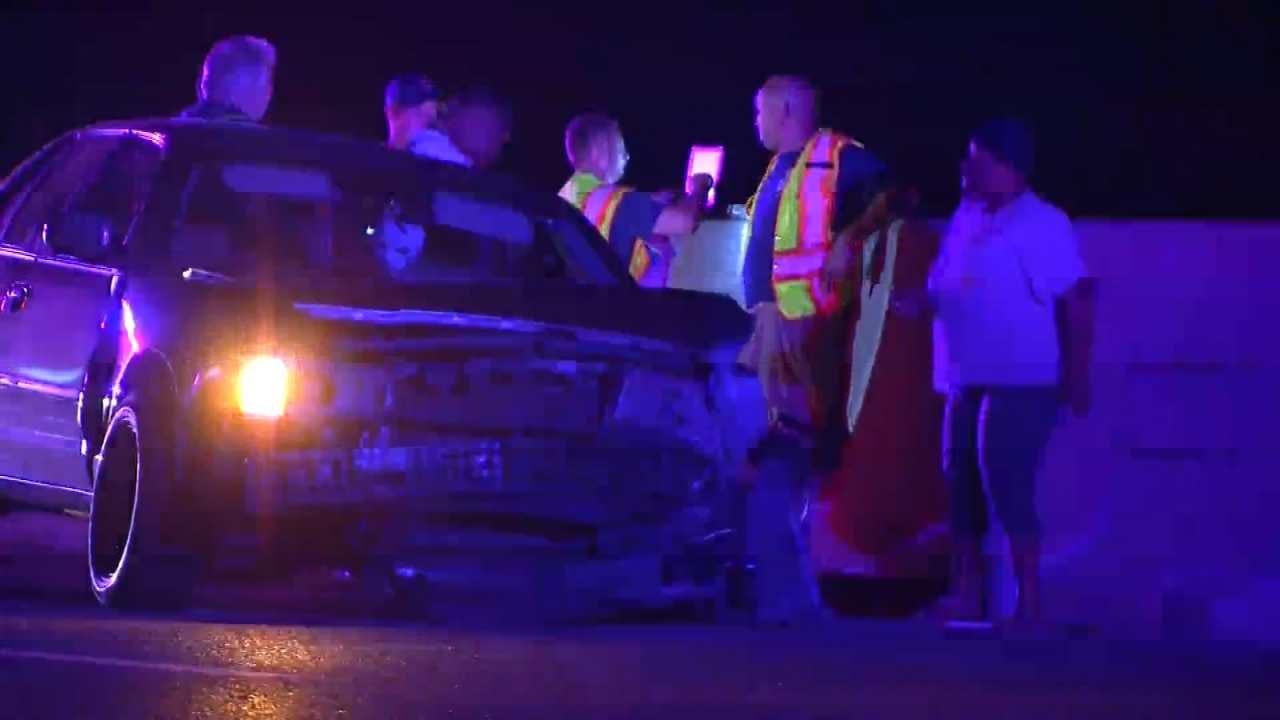 Pregnant Woman Crashes On Tulsa Highway