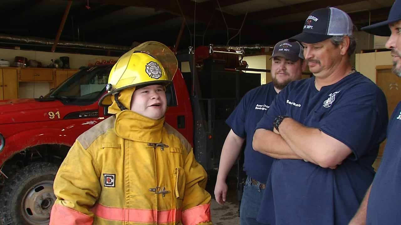 Alderson Firefighter Makes A Difference Inside And Out Of The Station