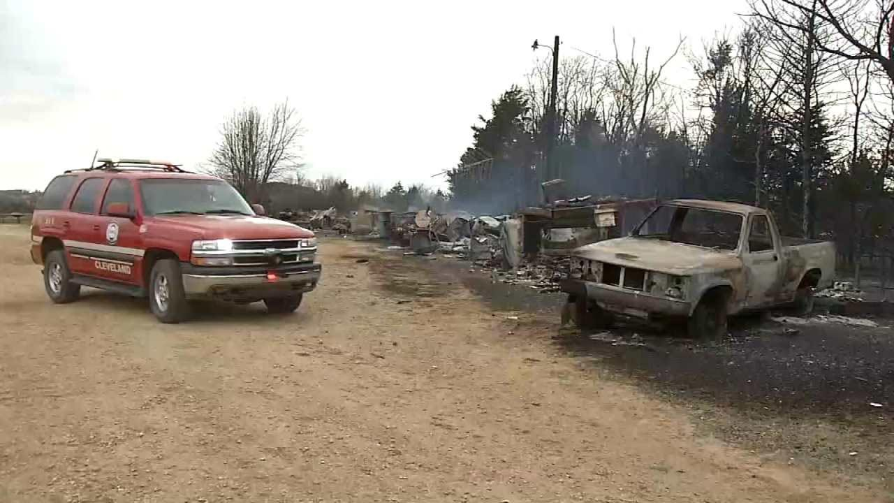 Cleveland Grassfire Accidentally Ignited By 'Burn Pile,' Fire Marshal Says