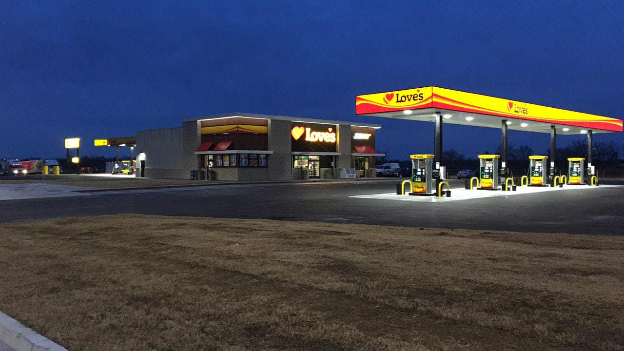 Love's Opens New Travel Stop Store In Nowata