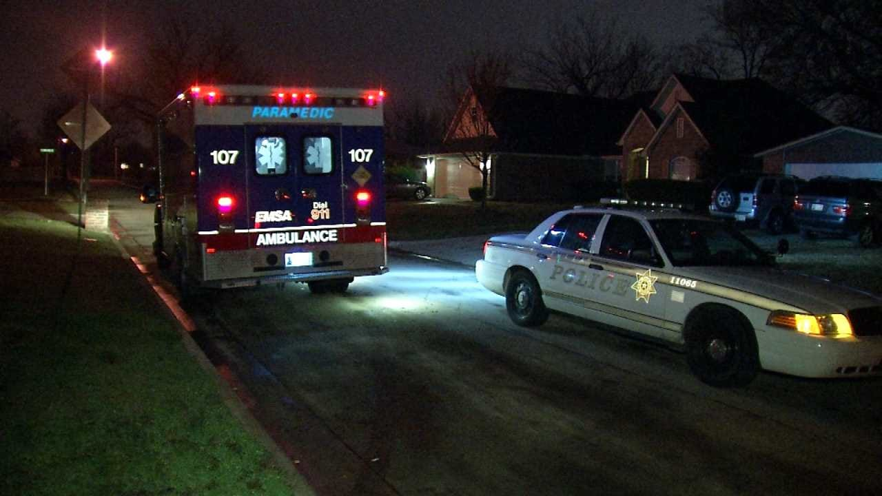 Woman Found Beaten, Stabbed Outside Tulsa Home