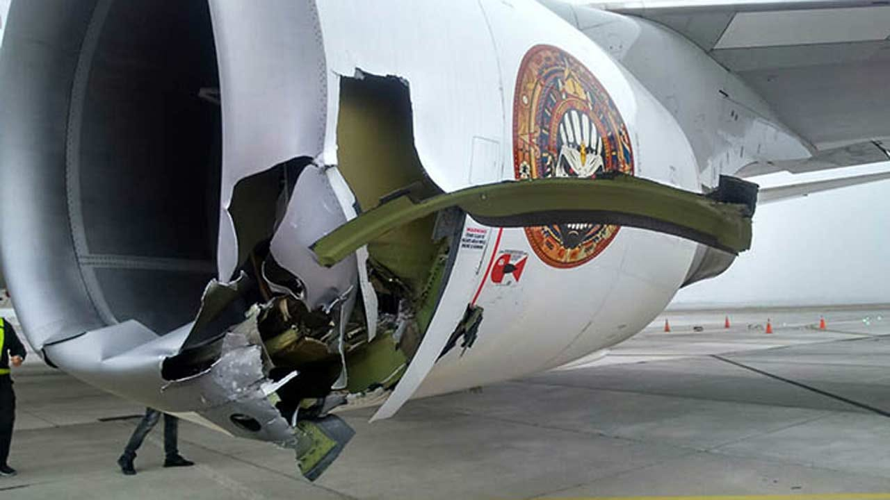 Iron Maiden's 'Ed Force One' Damaged In Chile, Two Injured