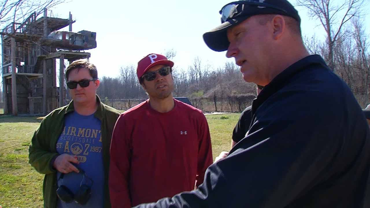 Actor Returns To Tulsa For An Inside Look At Police Training