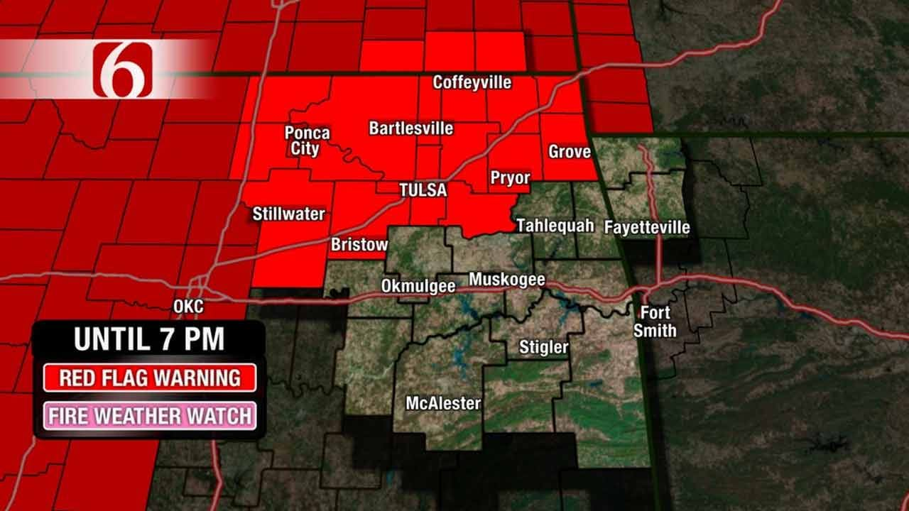 Dry Conditions, High Winds Bring Fire Dangers Across Oklahoma