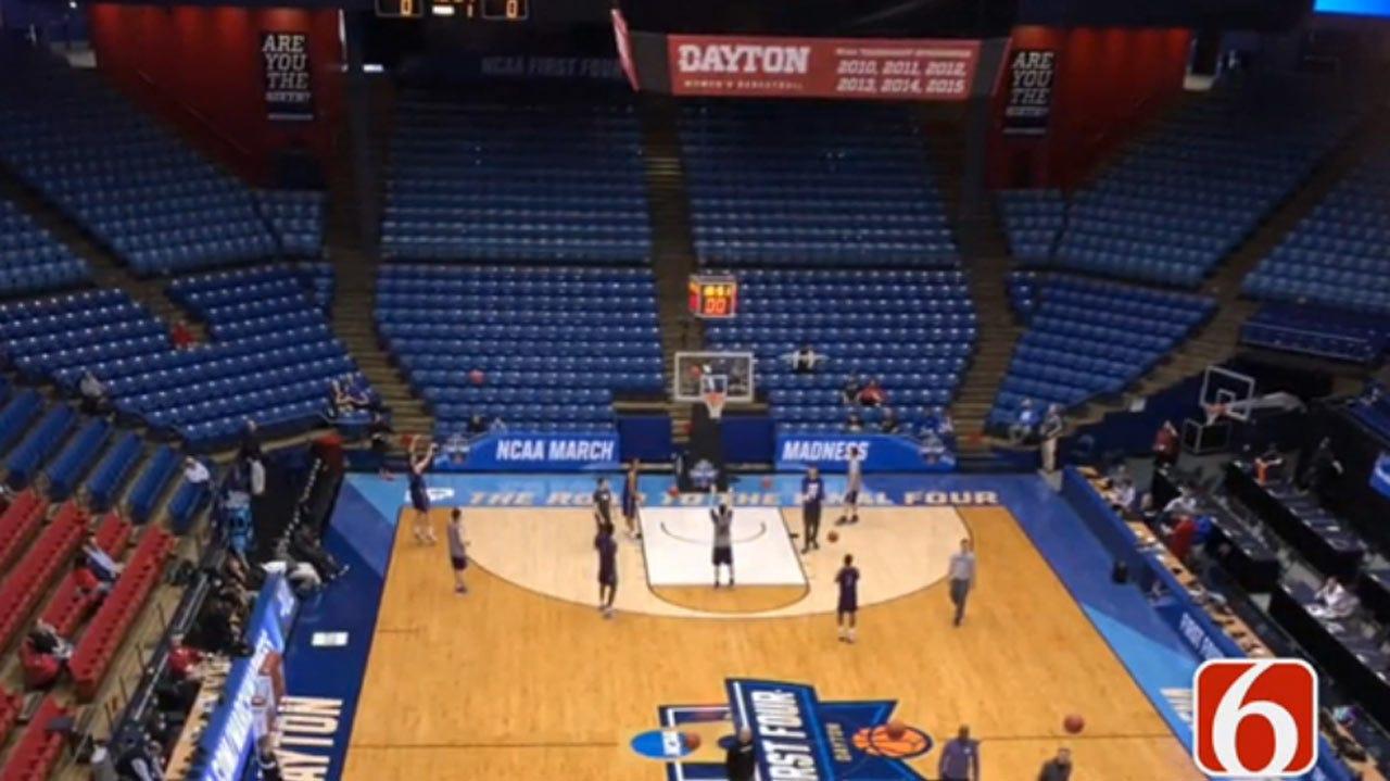 TU Prepares For NCAA Tournament Game With Michigan