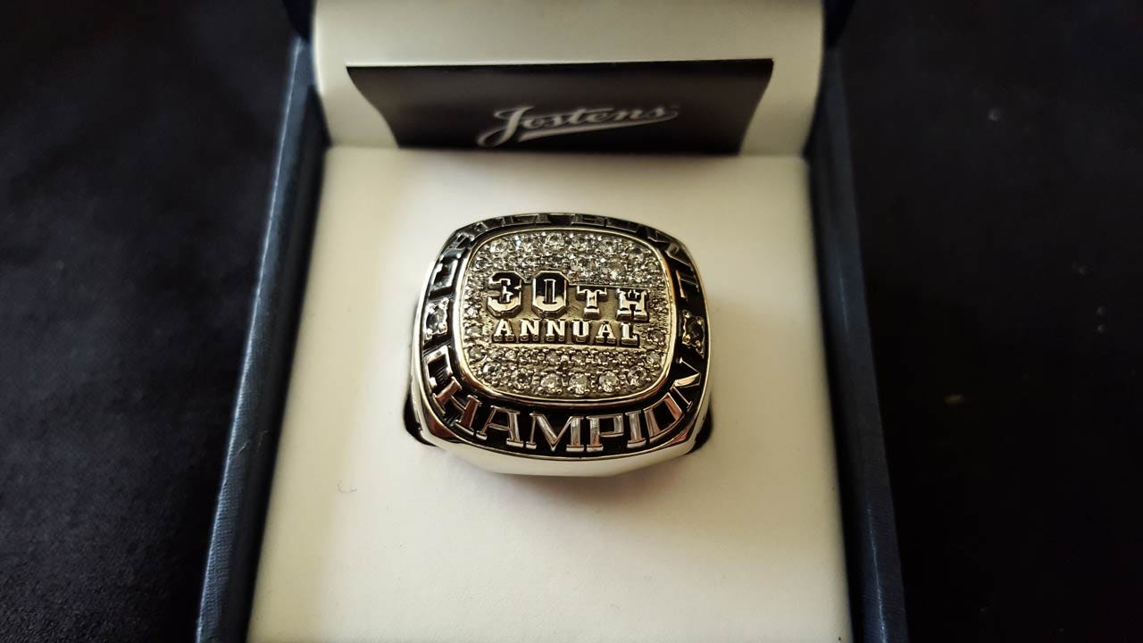 2016 Chili Bowl Winner Awarded Championship Ring